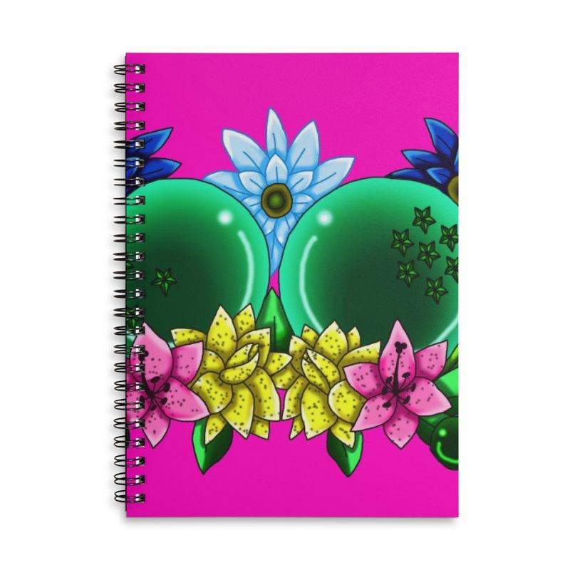 Inverted May Birthstone Dragonballs #10 Accessories Notebook by FieryWindWaker's Artist Shop
