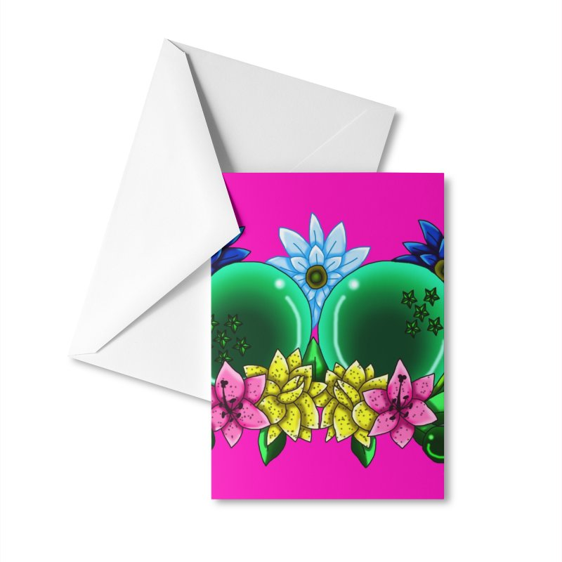 Inverted May Birthstone Dragonballs #11 Accessories Greeting Card by FieryWindWaker's Artist Shop