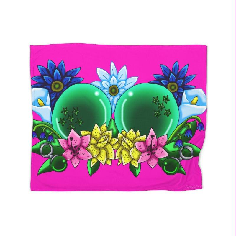 Inverted May Birthstone Dragonballs #11 Home Blanket by FieryWindWaker's Artist Shop
