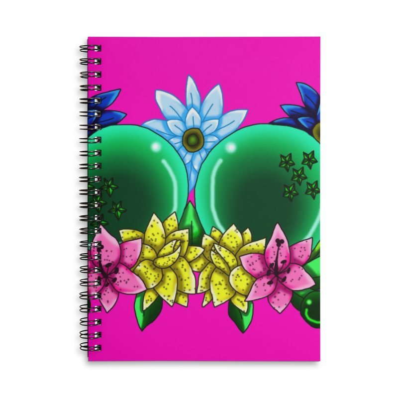 Inverted May Birthstone Dragonballs #11 Accessories Notebook by FieryWindWaker's Artist Shop