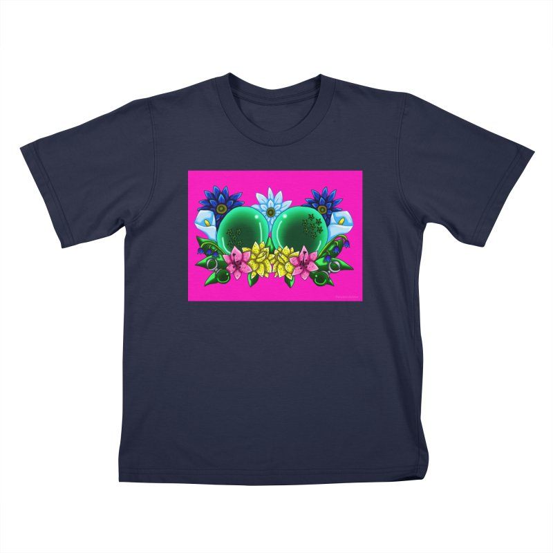 Inverted May Birthstone Dragonballs #12 Kids T-Shirt by FieryWindWaker's Artist Shop