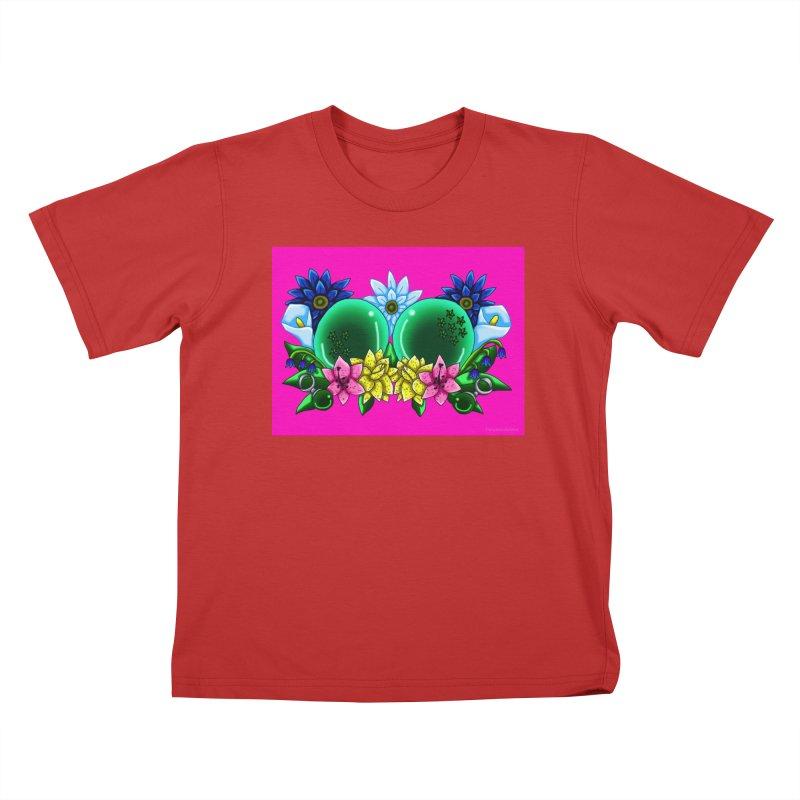 Inverted May Birthstone Dragonballs #12 Kids T-Shirt by FieryWindWaker's Artist Shop