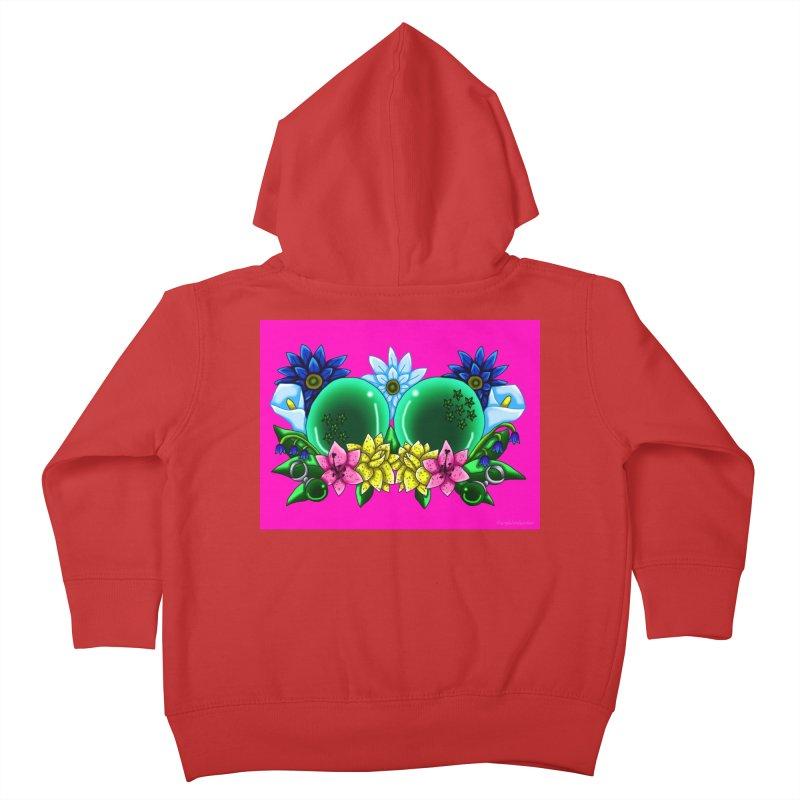Inverted May Birthstone Dragonballs #12 Kids Toddler Zip-Up Hoody by FieryWindWaker's Artist Shop