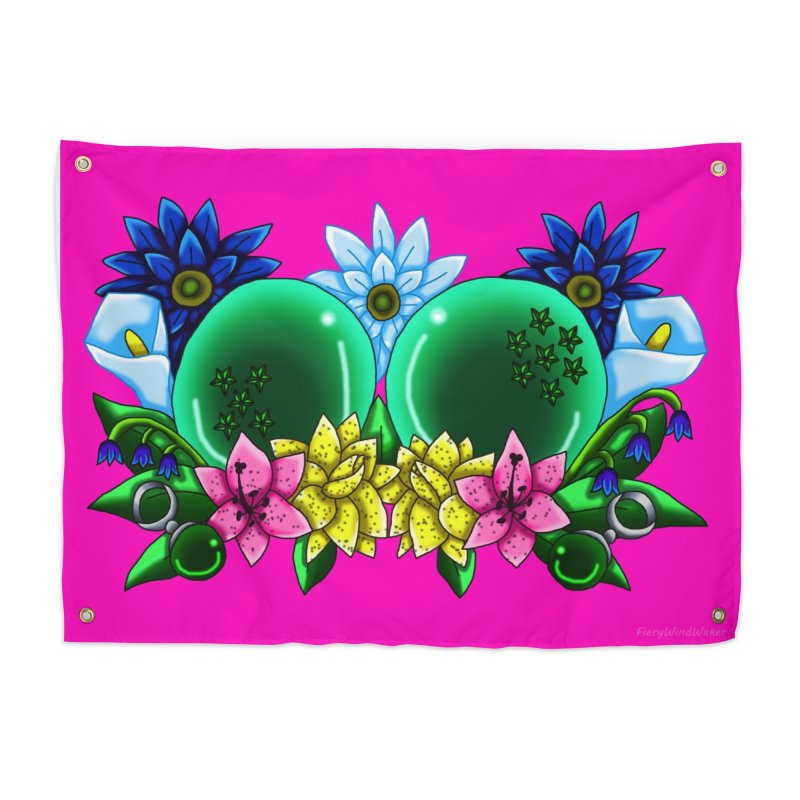 Inverted May Birthstone Dragonballs #12 Home Tapestry by FieryWindWaker's Artist Shop