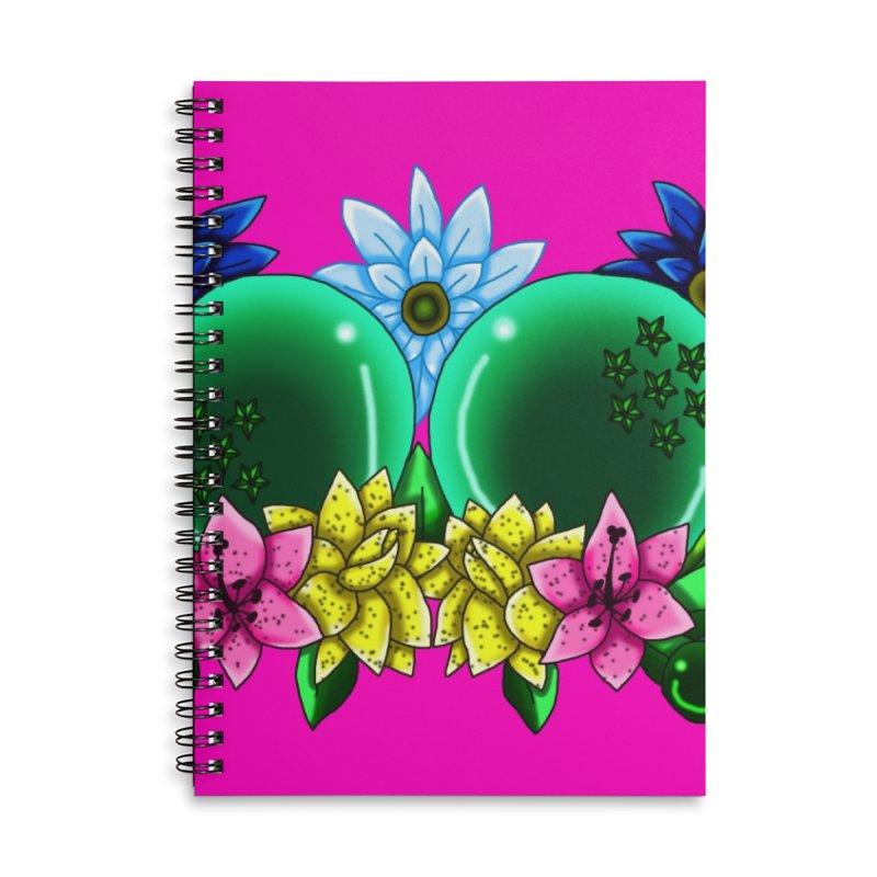 Inverted May Birthstone Dragonballs #12 Accessories Notebook by FieryWindWaker's Artist Shop