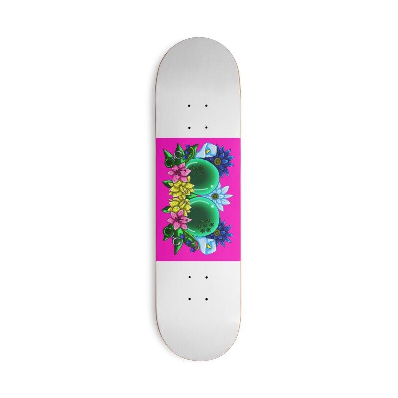 Inverted May Birthstone Dragonballs #12 Accessories Skateboard by FieryWindWaker's Artist Shop