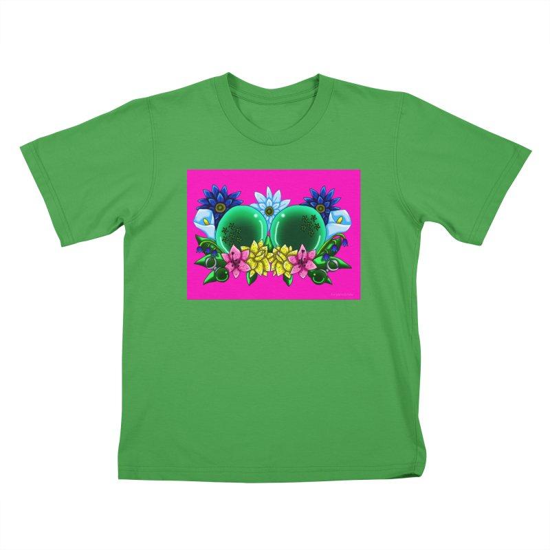 Inverted May Birthstone Dragonballs #13 Kids T-Shirt by FieryWindWaker's Artist Shop