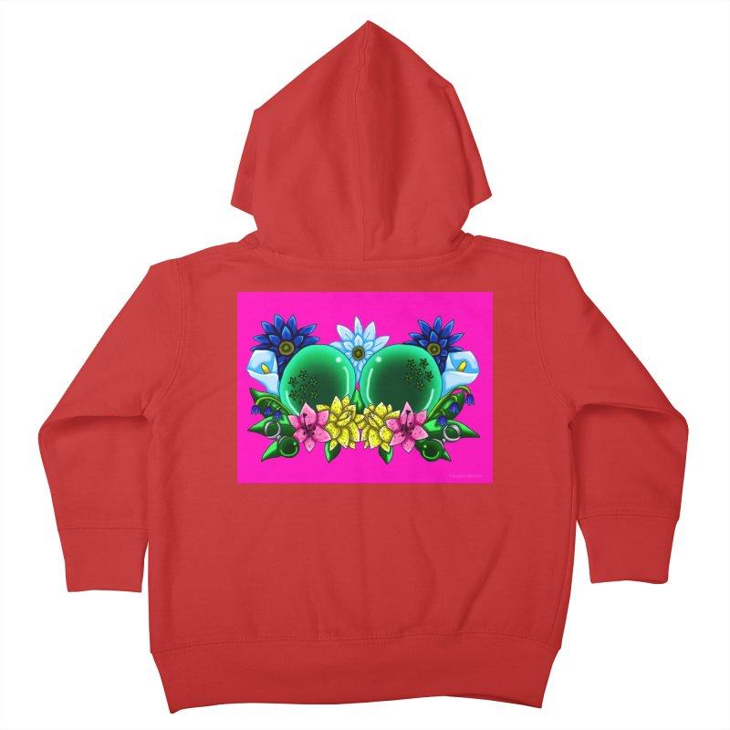 Inverted May Birthstone Dragonballs #13 Kids Toddler Zip-Up Hoody by FieryWindWaker's Artist Shop