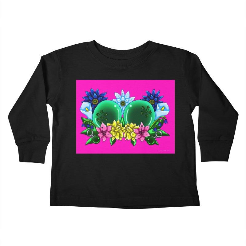 Inverted May Birthstone Dragonballs #13 Kids Toddler Longsleeve T-Shirt by FieryWindWaker's Artist Shop