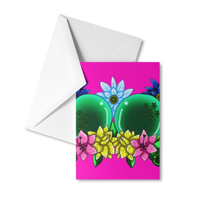 Inverted May Birthstone Dragonballs #13 Accessories Greeting Card by FieryWindWaker's Artist Shop