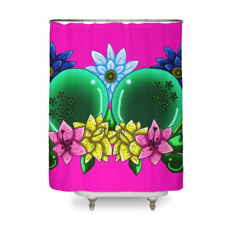 Inverted May Birthstone Dragonballs #13 Home Shower Curtain by FieryWindWaker's Artist Shop