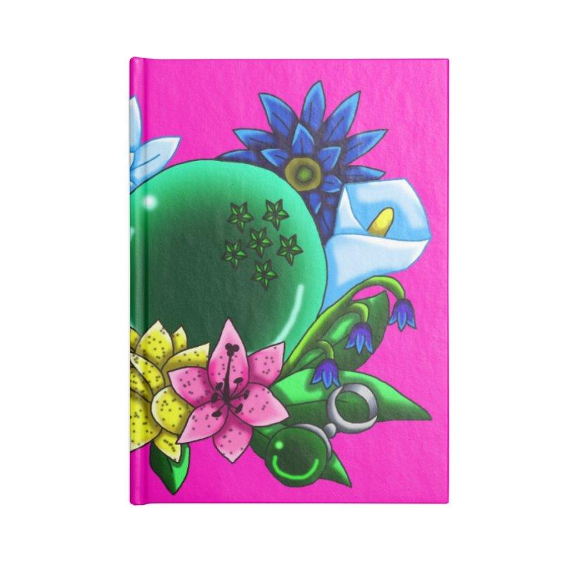 Inverted May Birthstone Dragonballs #13 Accessories Notebook by FieryWindWaker's Artist Shop
