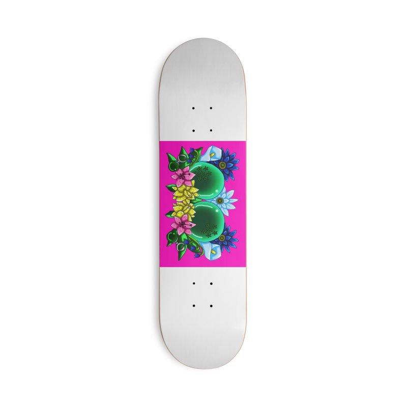 Inverted May Birthstone Dragonballs #13 Accessories Skateboard by FieryWindWaker's Artist Shop