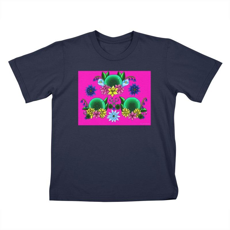 Inverted May Birthstone Dragonballs #14 Kids T-Shirt by FieryWindWaker's Artist Shop