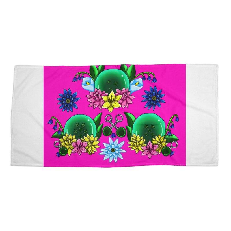 Inverted May Birthstone Dragonballs #14 Accessories Beach Towel by FieryWindWaker's Artist Shop