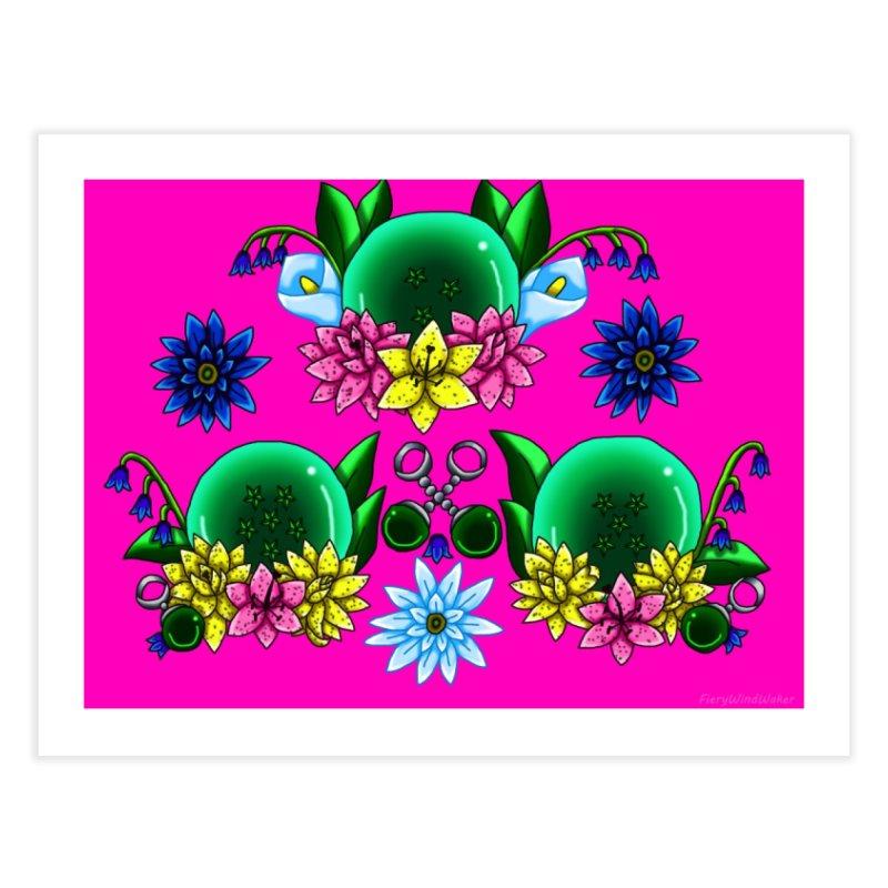 Inverted May Birthstone Dragonballs #14 Home Fine Art Print by FieryWindWaker's Artist Shop