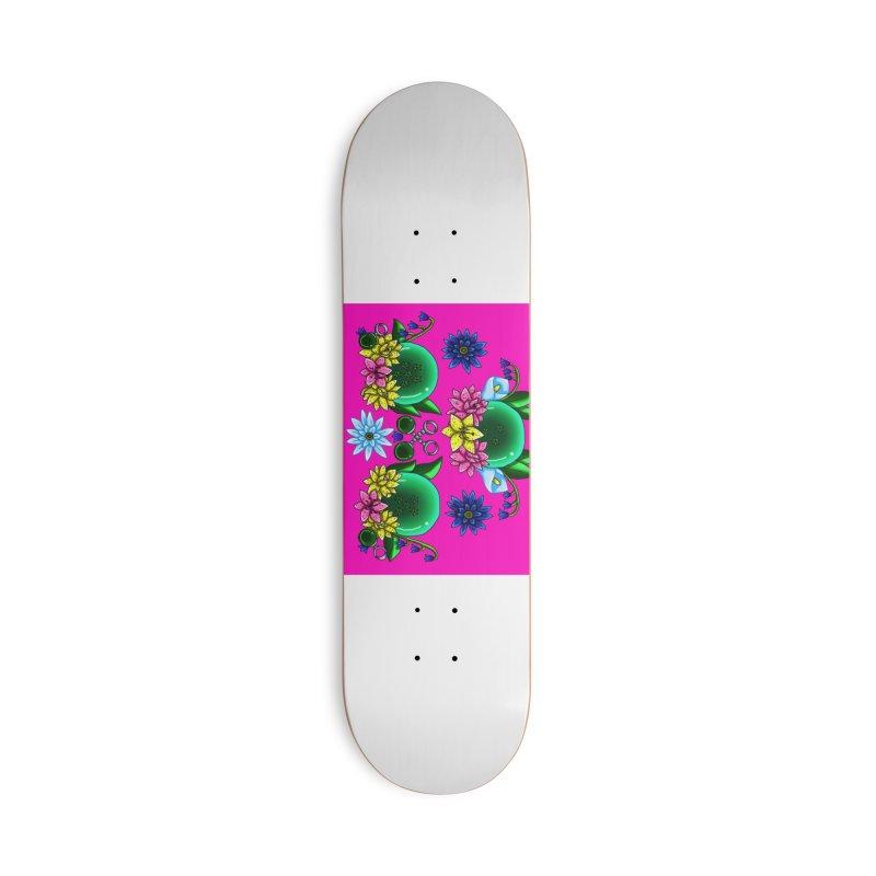 Inverted May Birthstone Dragonballs #14 Accessories Skateboard by FieryWindWaker's Artist Shop