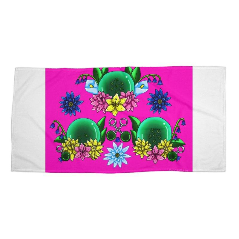 Inverted May Birthstone Dragonballs #15 Accessories Beach Towel by FieryWindWaker's Artist Shop