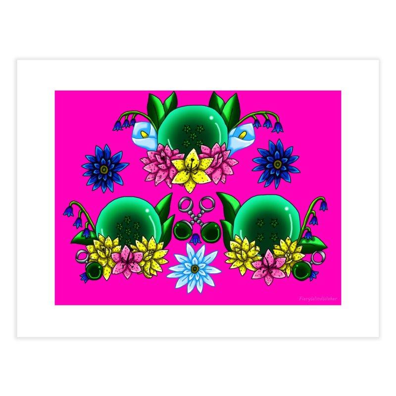 Inverted May Birthstone Dragonballs #16 Home Fine Art Print by FieryWindWaker's Artist Shop