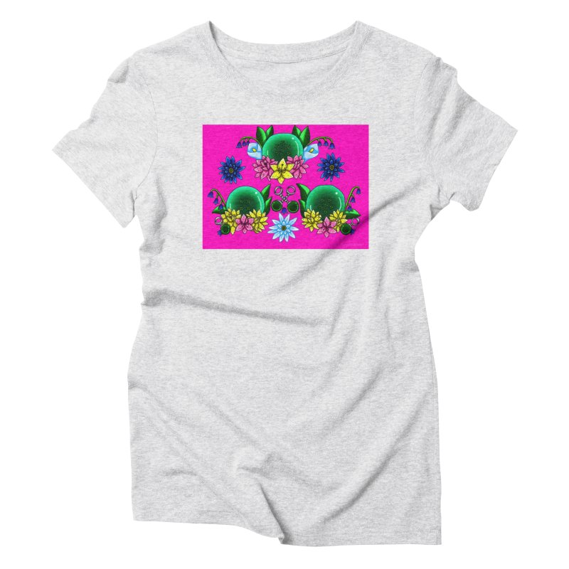 Inverted May Birthstone Dragonballs #17 Women's T-Shirt by FieryWindWaker's Artist Shop