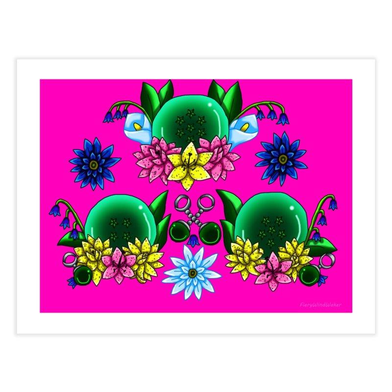 Inverted May Birthstone Dragonballs #17 Home Fine Art Print by FieryWindWaker's Artist Shop
