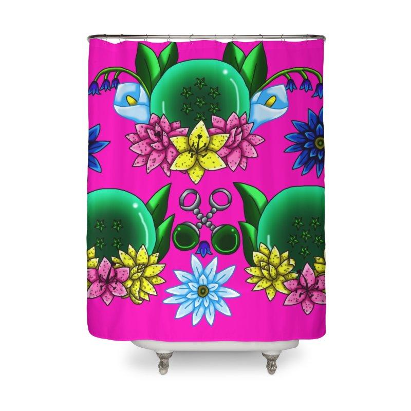 Inverted May Birthstone Dragonballs #17 Home Shower Curtain by FieryWindWaker's Artist Shop