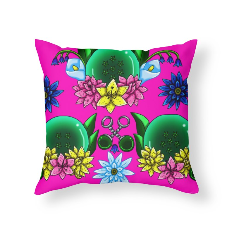 Inverted May Birthstone Dragonballs #17 Home Throw Pillow by FieryWindWaker's Artist Shop
