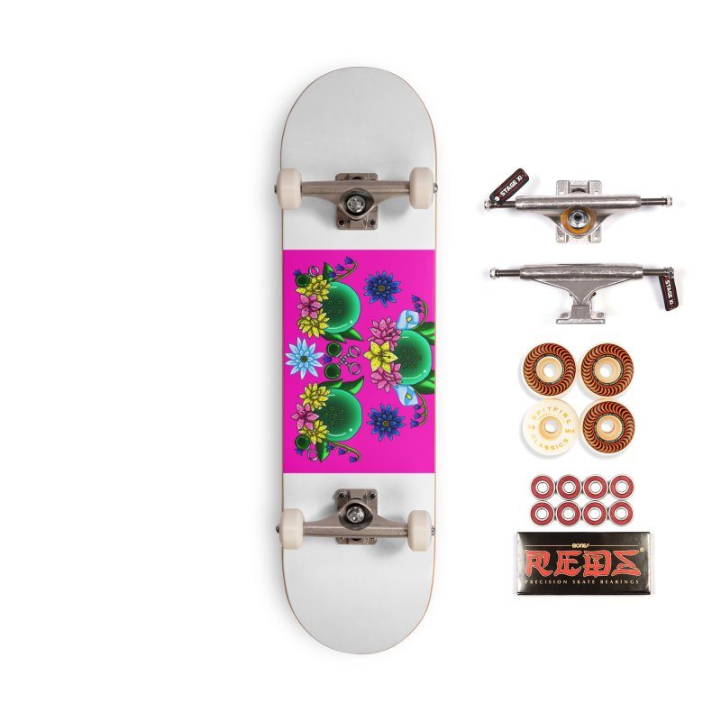 Inverted May Birthstone Dragonballs #17 Accessories Skateboard by FieryWindWaker's Artist Shop