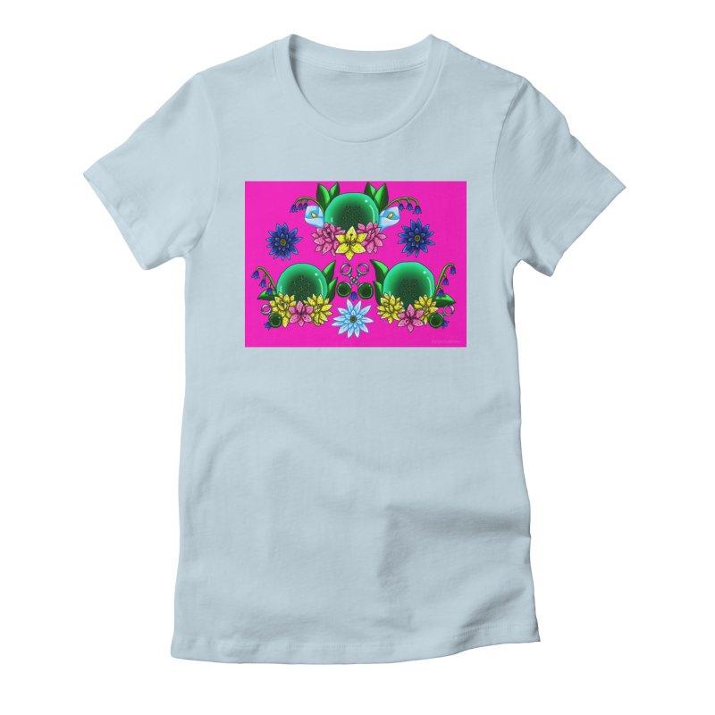 Inverted May Birthstone Dragonballs #18 Women's T-Shirt by FieryWindWaker's Artist Shop