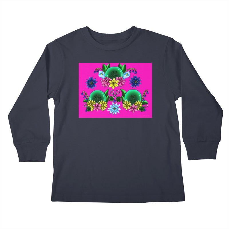 Inverted May Birthstone Dragonballs #18 Kids Longsleeve T-Shirt by FieryWindWaker's Artist Shop