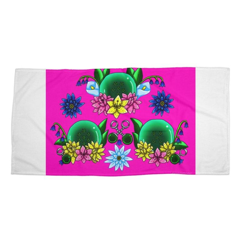 Inverted May Birthstone Dragonballs #18 Accessories Beach Towel by FieryWindWaker's Artist Shop
