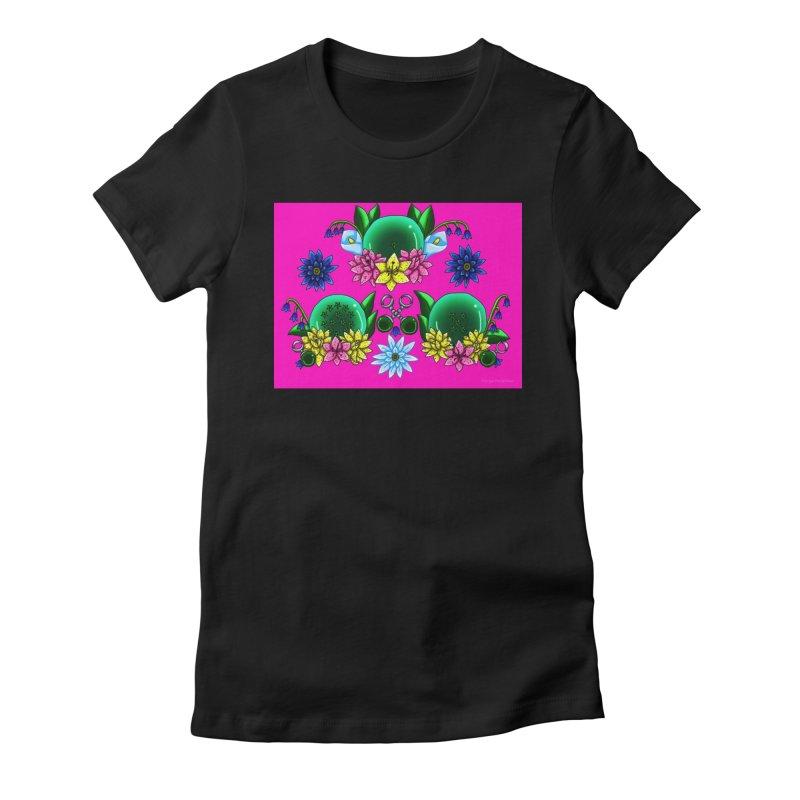 Inverted May Birthstone Dragonballs #19 Women's T-Shirt by FieryWindWaker's Artist Shop