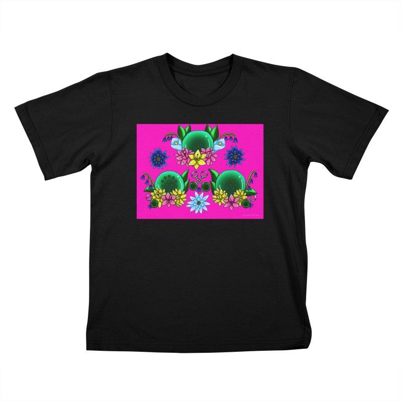 Inverted May Birthstone Dragonballs #19 Kids T-Shirt by FieryWindWaker's Artist Shop