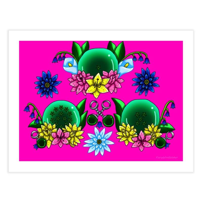 Inverted May Birthstone Dragonballs #19 Home Fine Art Print by FieryWindWaker's Artist Shop