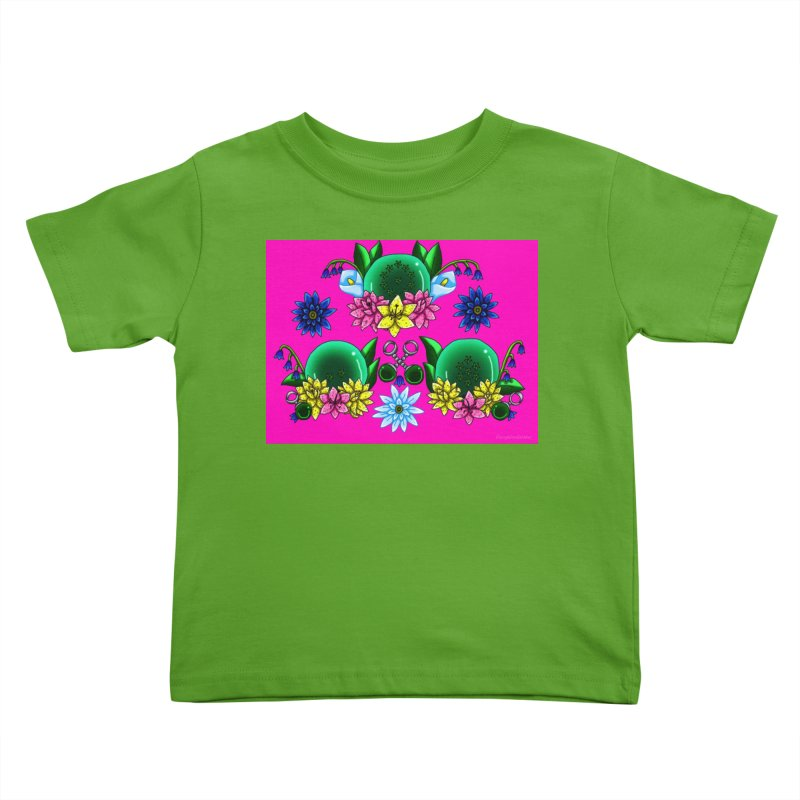 Inverted May Birthstone Dragonballs #20 Kids Toddler T-Shirt by FieryWindWaker's Artist Shop