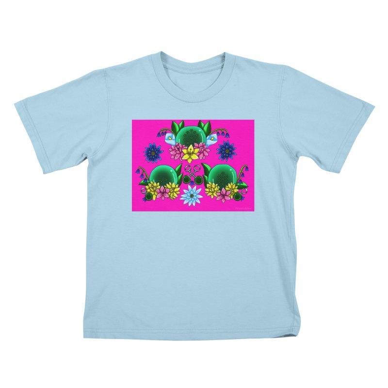 Inverted May Birthstone Dragonballs #20 Kids T-Shirt by FieryWindWaker's Artist Shop