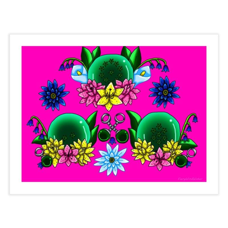 Inverted May Birthstone Dragonballs #20 Home Fine Art Print by FieryWindWaker's Artist Shop
