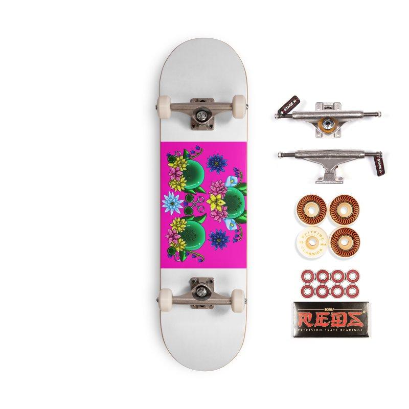 Inverted May Birthstone Dragonballs #20 Accessories Skateboard by FieryWindWaker's Artist Shop