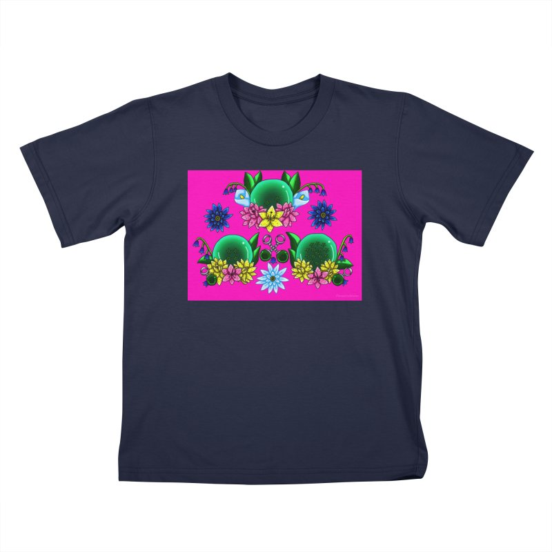 Inverted May Birthstone Dragonballs #21 Kids T-Shirt by FieryWindWaker's Artist Shop