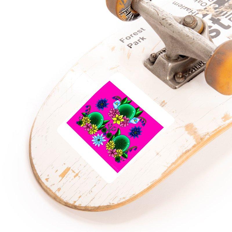 Inverted May Birthstone Dragonballs #21 Accessories Sticker by FieryWindWaker's Artist Shop