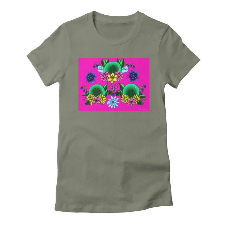 Inverted May Birthstone Dragonballs #22 Women's T-Shirt by FieryWindWaker's Artist Shop