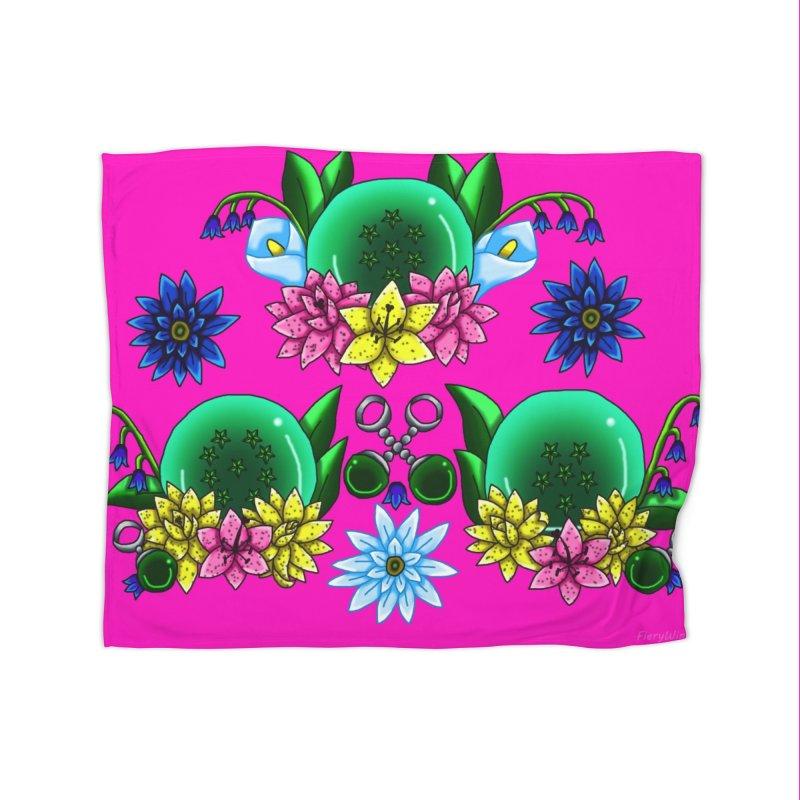 Inverted May Birthstone Dragonballs #22 Home Blanket by FieryWindWaker's Artist Shop