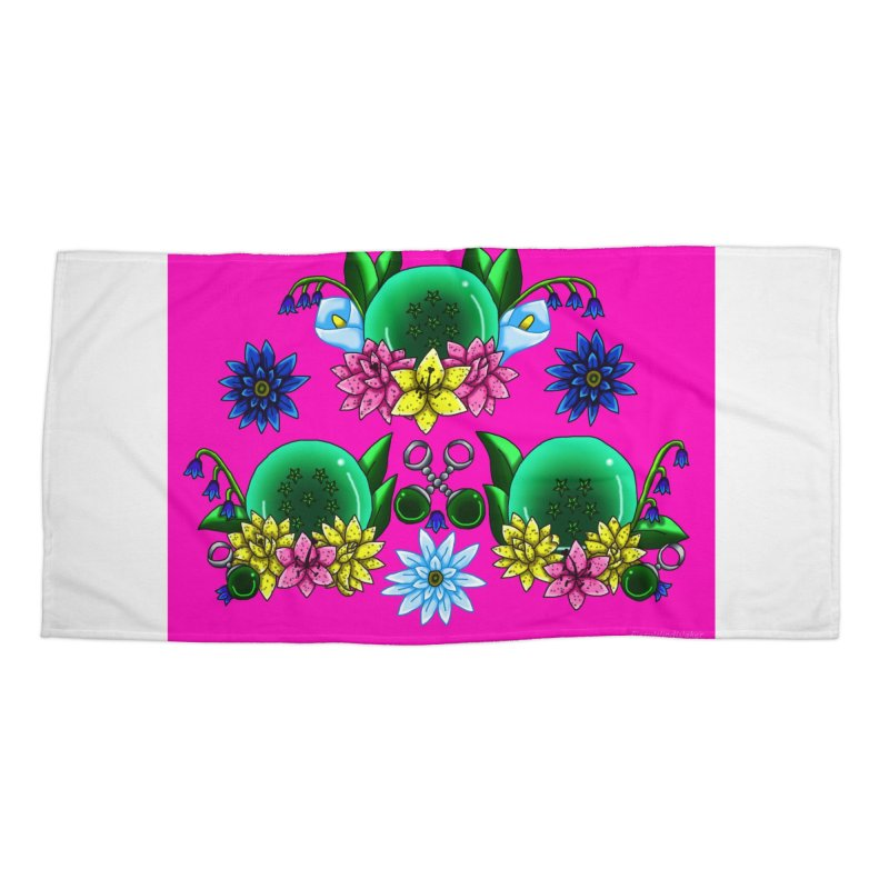 Inverted May Birthstone Dragonballs #22 Accessories Beach Towel by FieryWindWaker's Artist Shop