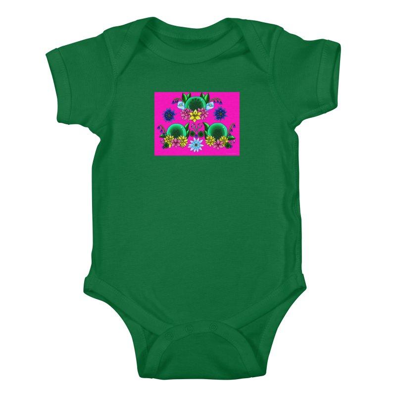 Inverted May Birthstone Dragonballs #23 Kids Baby Bodysuit by FieryWindWaker's Artist Shop