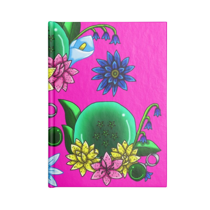 Inverted May Birthstone Dragonballs #23 Accessories Notebook by FieryWindWaker's Artist Shop