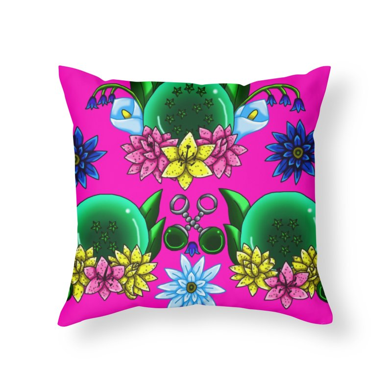 Inverted May Birthstone Dragonballs #23 Home Throw Pillow by FieryWindWaker's Artist Shop