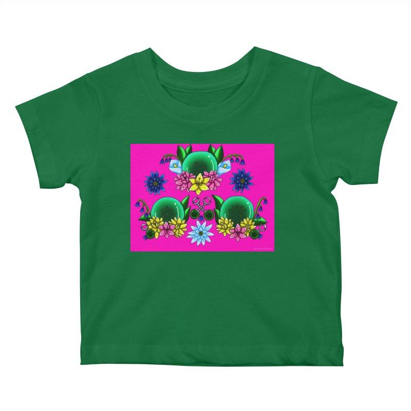 Inverted May Birthstone Dragonballs #24 Kids Baby T-Shirt by FieryWindWaker's Artist Shop