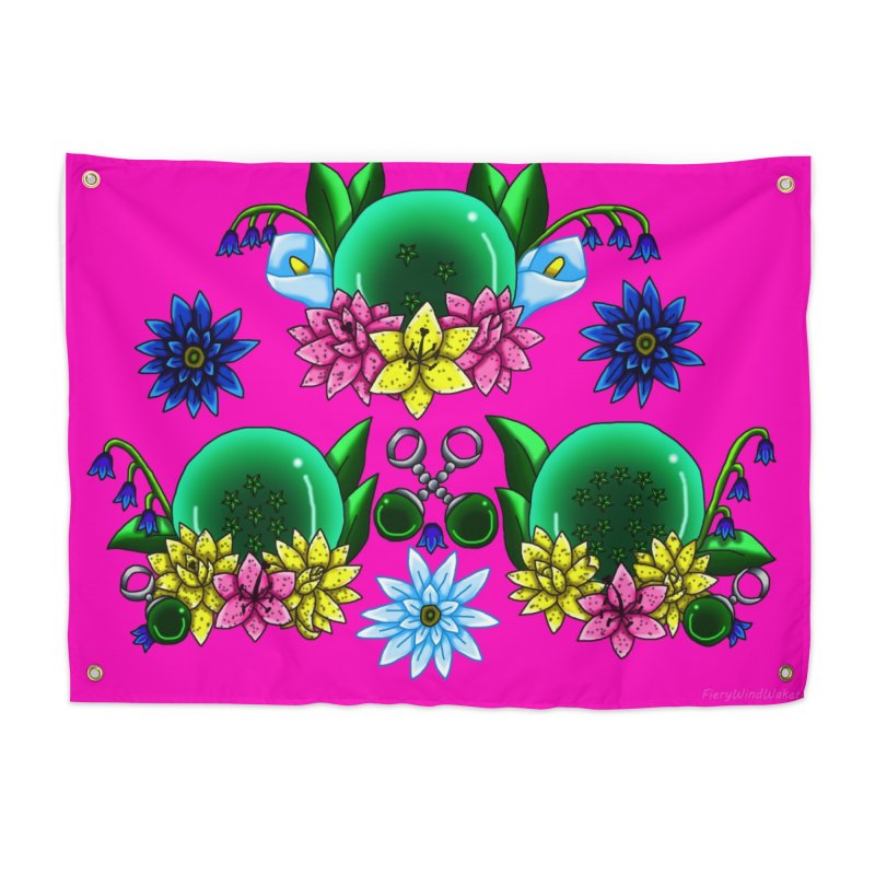 Inverted May Birthstone Dragonballs #24 Home Tapestry by FieryWindWaker's Artist Shop