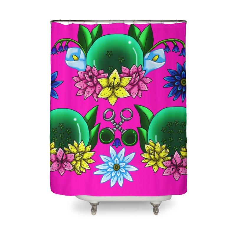 Inverted May Birthstone Dragonballs #24 Home Shower Curtain by FieryWindWaker's Artist Shop