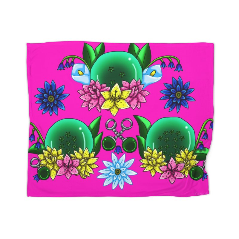 Inverted May Birthstone Dragonballs #24 Home Blanket by FieryWindWaker's Artist Shop